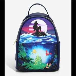 Loungefly  The little Mermaid silhouette b…